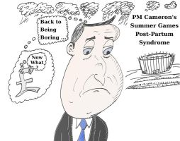 David Cameron has the Summertime blues by optionsclickblogart