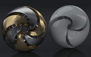 Triply and sixfold twist mobius space by Dracu-Teufel666