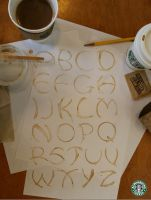 Coffee Alphabet by manda-pie