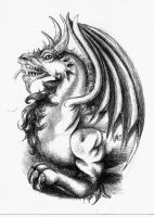 Dragon by ScarlettRoyale