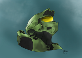 Master Chief by ImJohnny