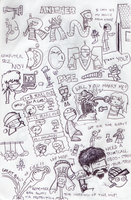 The Random Page 'Doodles' by SuperFrea