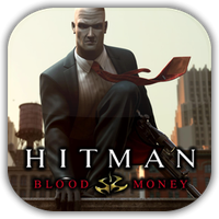 Hitman Blood Money Game Icon by Wolfangraul