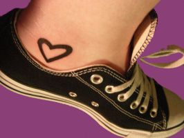 Tattoo Heart by unconditionalhigh