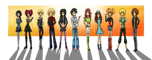 Meet my characters by Eisenrose