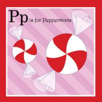 P is for Peppermints by tlagrange