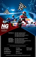 NG Team Racing Flyer by artofmarc