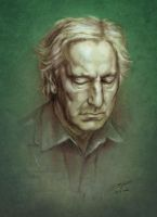 Mr Rickman - color by Simokaos