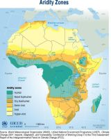 Aridity Map of Africa by FringerFrankie