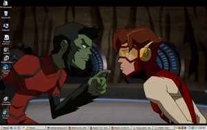 Young Justice -Beast Boy desktop 3 by DTWX