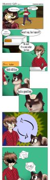 COM: Mystery Gift part 1 by CM-The-Artist