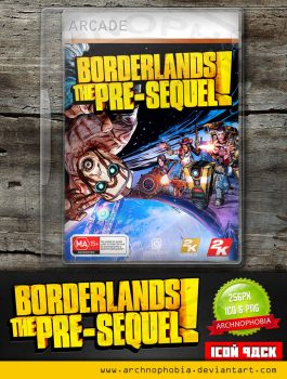 Borderlands: The Pre-Sequel! (Icon Pack) by archnophobia