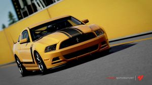 Ford mustang Boss 302 by AP3XISTARS