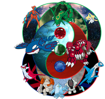 The Legends of Hoenn by storm12