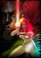 Red Sonja by uwedewitt