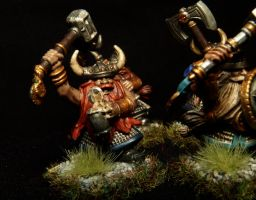 Drunken Dwarf Warrior by Teuril