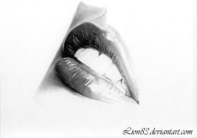 Lips in progress by Per-Svanstrom