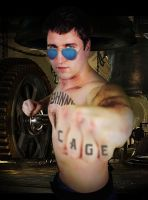 Halloween 2013 - Johnny Cage by DESIGNOOB