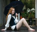 On the falling rain by Iardacil-stock
