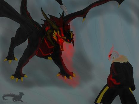 Undertale AU: Underfell-The Hatred of Monsters by BlackDragon-Studios