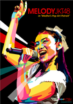 Melody JKT48 in WPAP by setobuje