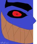 A MONSTER OMG with SHARINGAN by Gleative