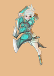 Commission: Riven WIP by alexus0977