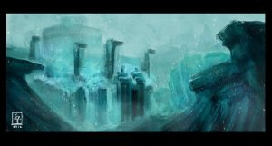 Concept_Snow_Fortress by VeritasX5