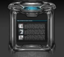 Metal web template by AREA01