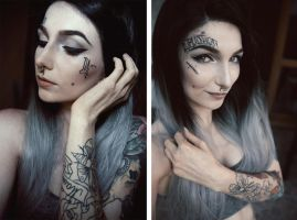 Monami transformation by AshiMonster