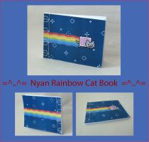 Nyan Rainbow Cat Sketchbook by HappyImpressions