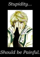 Sanzo's thoughts on stupidity by Mithore-Rauko