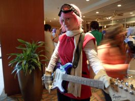 Haruko came to rock out at AnimeNEXT 2013 by FUBARProductions