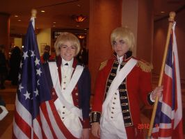 Revolutionary America and England by Koragg1
