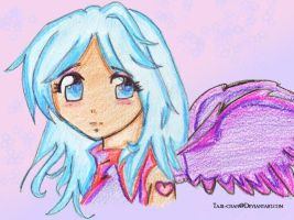 Angel..Coloring practice 2 by Tajii-chan