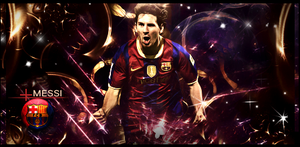 Messi by Onbush