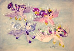 Princess flight by SkyAircobra