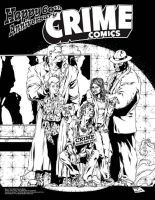 Crime Pin Up by LarryWelch