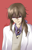 Hatoful Boyfriend - Iwamine Shuu by the-star-samurai
