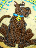 Scooby Doo Cookie Close up by MysteriousFoxThief