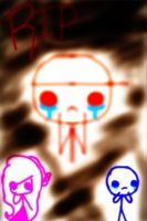 R.I.P)))))Ghost Red by Ai-Amaterasu
