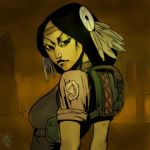 wasteland 2 portraits by Vamp1r0