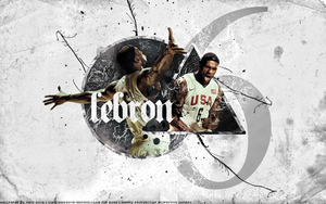 LeBron James by SaintFan-Designz