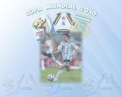 Argentina World Cup 2010 by cazcastalla