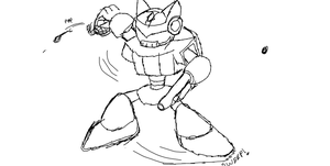 (Rough sketch) Mad Cat 001 by ShadersHQ