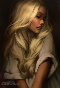 Golden hair by Tsvetka