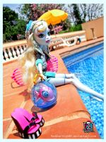 Monster High Lagoona Blue and the Pool by MonsterHighBR