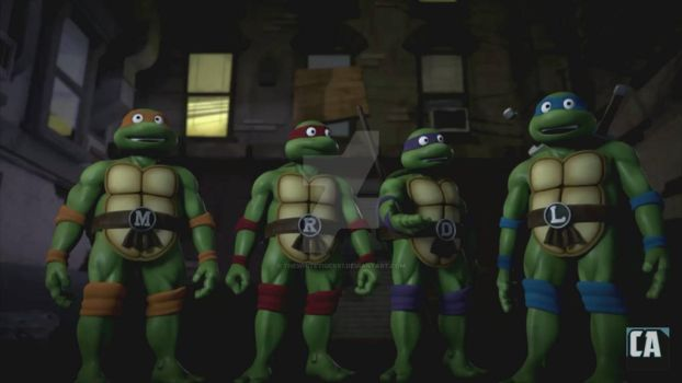 TMNT Trans-Dimensional 1985 Turtles by THEWHITETIGER97