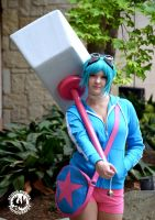 Ramona Flowers (Video Game Version) by Whatsername-Cosplay
