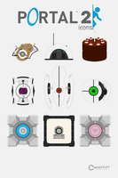 Wheatley Laboratories Icon Set by VaIisk